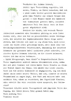 Ein Brief an James Joyce